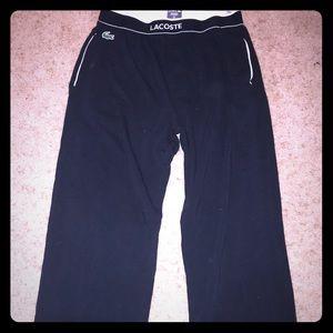 Men's Lacoste black long underwear